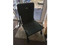 Nash Hooligun Carp Fishing Chair With Adjustable Legs - Mint Condition Used Once