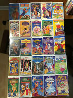 Walt Disney (& Other) VHS Movies