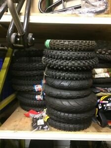 LOTS OF DIRTBIKE,ENDURO,SCOOTER TIRES