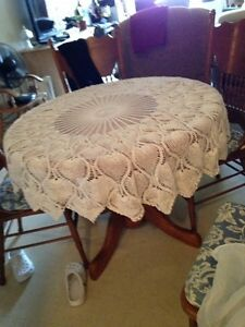 Handmade Lace  Table Cloth