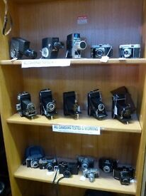 Cheap Working,Vintage Cameras,SLRs,Folding Cameras,Collectable Cameras & Accessories, Bags & Tripods