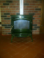 oil stove with 15 ft 5 inch stainless steel liner