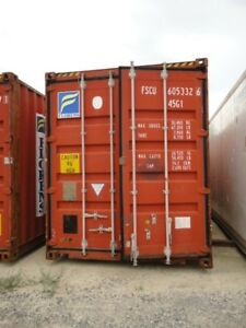 40' HC Used Shipping Container (NB)