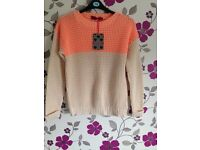 *Boohoo* Chunky Knit Jumper Size S/M