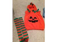 Pumpkin outfit Halloween
