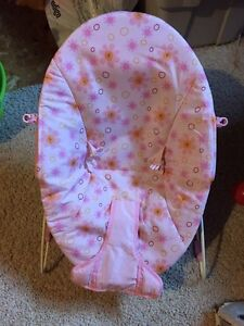 Pink  bouncer chair for sale London Ontario image 1