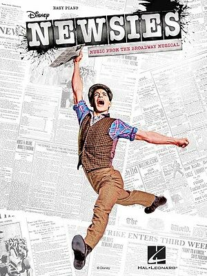 Newsies Sheet Music from the Broadway Musical Easy Piano SongBook NEW 000119440
