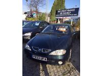 Renault Megane coupe convertible