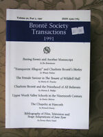 Bronte Society Journals