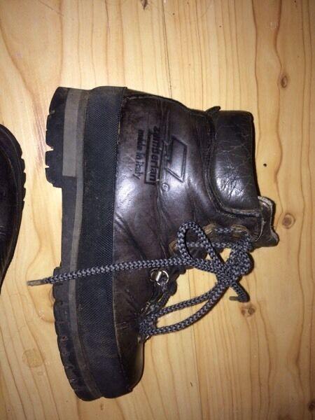 Italian make Zimberland Hiking boots