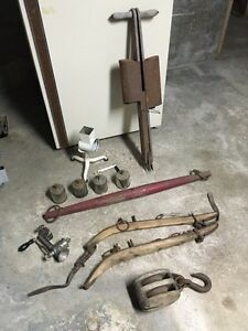 Vintage Tools,Cart,Yoke,Hames,Food Grinders,Sickles,More