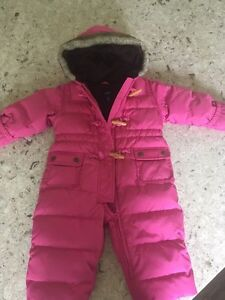 Girls Gap Snowsuit 12- 18 months EUC