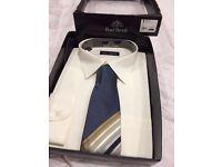 Rael Brook shirt and tie box set 18 1/2