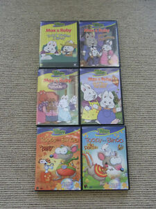 Max & Ruby  and Toopy & Binoo DVDS