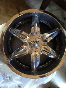 4 polished rims