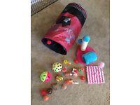 Bundle of cat toys
