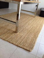 Jute Rug from Ikea – 8ft 3 in x 5ft 8 in