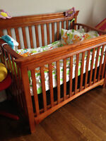 new and never used crib
