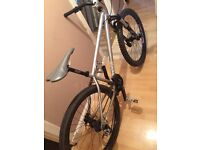 Downhill hardtail mountain bike