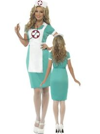 SCRUB NURSE GREAT FOR SIZE 12/14 GREAT FOR PARTY OR HEN DO