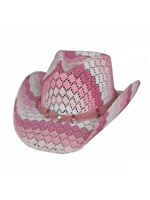 Cowgirl Hats For Kids (Bullhide Hats Teenage Dream – Pink Cowgirl Kids)