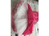 Girls American Princess Cerise Dress Brand New with Tag £10 Age 8