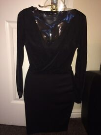New H&M wrapover style party dress xs