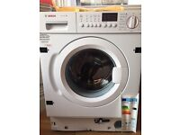 BOSCH WIS28441GB Full-size Integrated Washing Machine - White Rrp£679