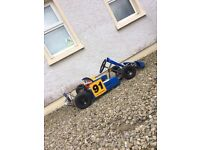 Comer Cadet Kids Go Kart With Trailer