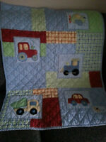Quilt and Decor - Transportation Theme $15