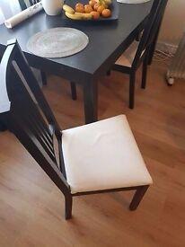 Table +4 chairs Ikea Leeds