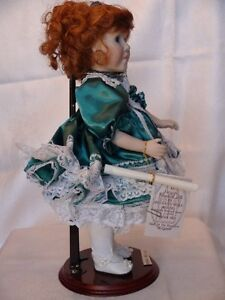 Meggan's Collectors Canadian Procelain Handmade Doll Anna Belle London Ontario image 6