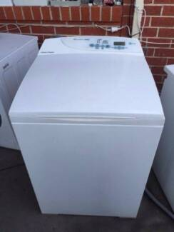modern /large / 8 kg top fisher &paykel washing machine , can del