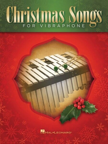 Christmas Songs for Vibraphone Percussion Book NEW 000148539