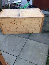 Solid Wood Large Chest - Can Deliver