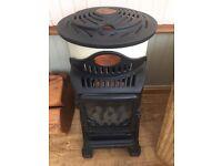 Calor gas heater. Unusual design.