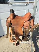 Tod Slone Roping Saddle Mint Condition