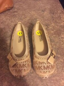 Authentic Michael Kors Girls Shoes. Size 13 -- Brand New!