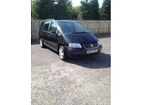 2005 Vw Sharan 1.9tdi SE-full mot+taxed-117k(new clutch kit)Alhambra/galaxy/7 seater