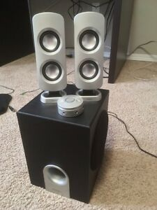 Pc speakers and sub!