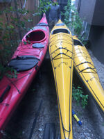 SEA KAYAK, Red, Eco Series crafted by Current Craft