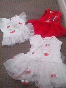 Euc 00 girls Christmas clothing Glenwood Blacktown Area Preview