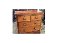 Victorian chest of drawers £65