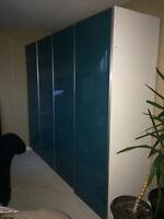 Armoire-penderie murale / Wardrobe (type IKEA)