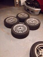BMW STYLE 73 RIMS/WINTER TIRES
