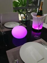 Latest LED Mood Balls, Hire or Buy, Everglo Event Hire. Biggera Waters Gold Coast City Preview