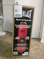 EVERLAST punching bag fitness set