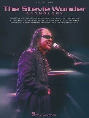 The Stevie Wonder Anthology Sheet Music Piano Vocal Guitar Songbook 000306447