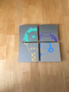 Decorative mirrors for baby's room