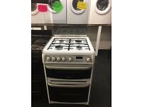 CANNON 60CM WIDE ALL GAS COOKER IN WHITE.